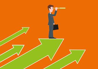 Croissance - Chef d'entreprise - Leader