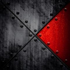 grunge metal tank background