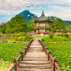 Gyeongbokgung Palace. South Korea.