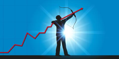 Croissance - Économie - Chef d'entreprise