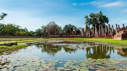 Sukhothai Historical Park, Sukhothai Thailand.