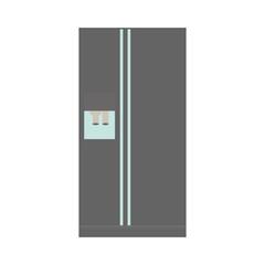 refrigerator or fridge icon image vector illustration design