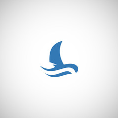 fishing boat logo