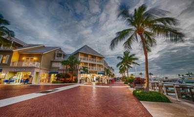 Mallory Square at dusk, Key West