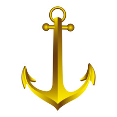 sea anchor icon image vector illustration design
