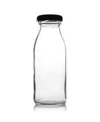 isolated milk bottle