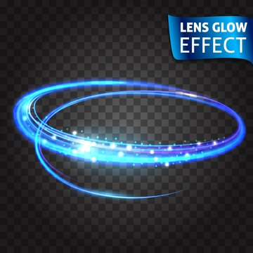 Lens glow effect. Neon Series set of cat scratch. Bright neon glowing effect. Transparent background. Abstract glowing crack, imitation effect speed