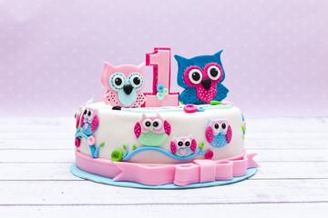 Obraz beautiful cake for kids  - fototapety do salonu