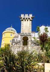 Fotomurales - Sintra, Portugal. Pena National Palace. Palacio Nacional da Pena