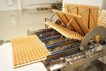 production of chocolates and cookies