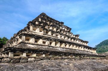 Pyramid of the Niches, El Tajin (Mexico)