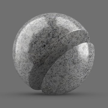 Gray anemone marble