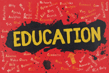Education, Word Cloud, Blog