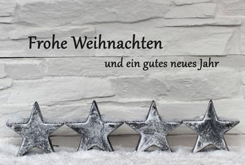 Frohe Weihnachten und ei gutes neues Jahr