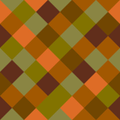 Seamless mosaic background - colorful squares