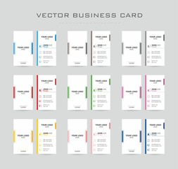 Business card color pack