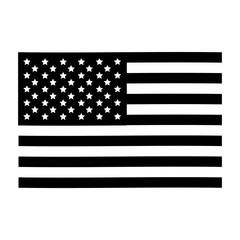 usa flag icon image vector illustration design