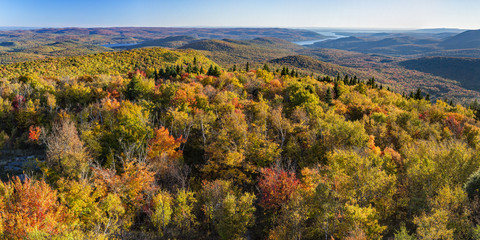 South Panoramic View from Hadley Mountain Fire Tower