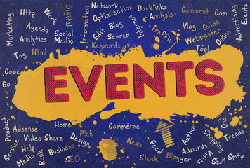 Events, Word Cloud, Blog