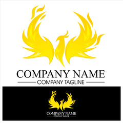 Phoenix Logo for trademark or brand identity