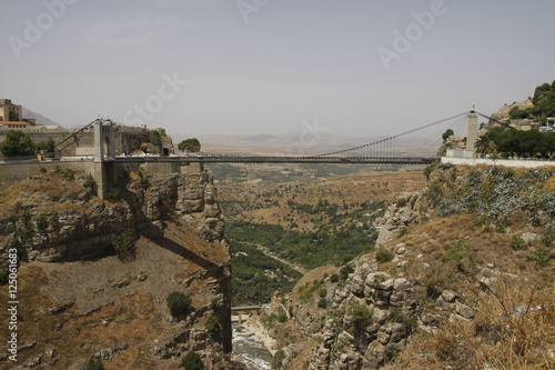 Sidi m cid suspension bridge in constantine algeria for Piscine sidi m cid constantine
