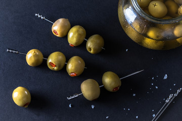 Colossal Spanish Queen Olives for Garnish