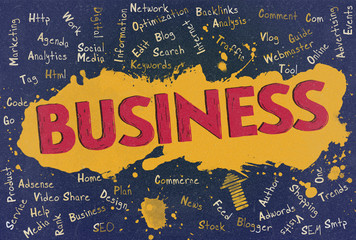 Business, Word Cloud, Blog
