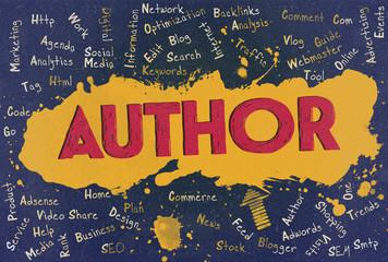 Author, Word Cloud, Blog