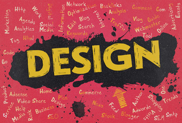 Design, Word Cloud, Blog