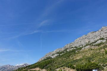 クロアチアの岩山