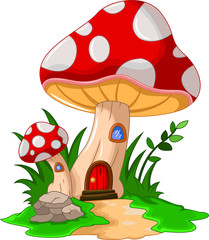 mushroom house for you design