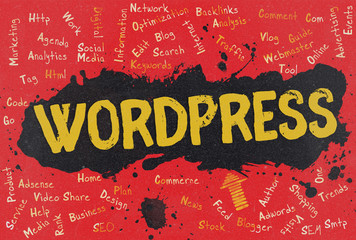 WordPress, Word Cloud, Blog
