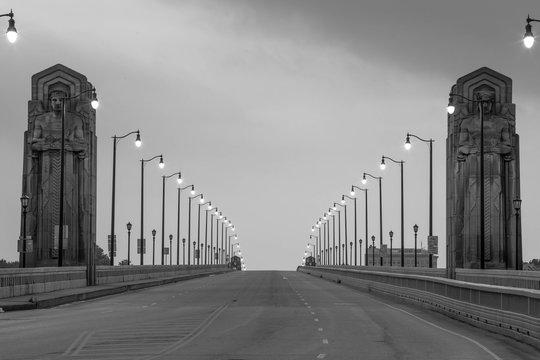 This is Hope memorial bridge of cleveland ohio