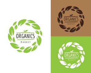 Natural, Organic, Bio, Farm Fresh Design , organic logo