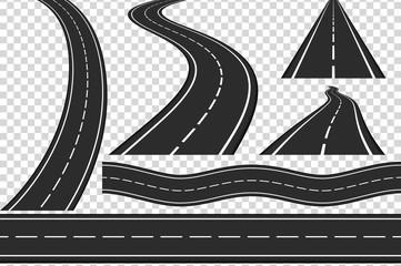 Roads Fototapete