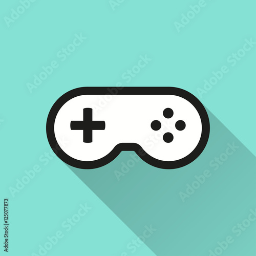 """""""Game controller - vector icon."""" Stock image and royalty ..."""