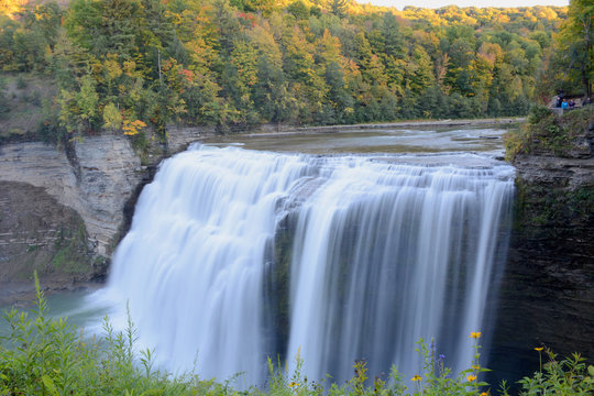 Great Fall at Letchworth State Park