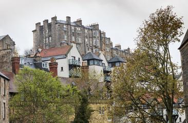 View over Edinburgh, Scotland, UK.