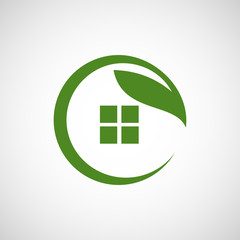 organic house logo