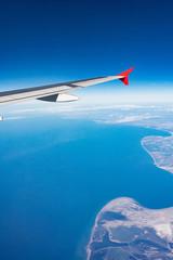 Landeanflug an der Küste von Mallorca - 7078