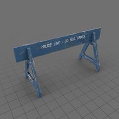 Police Barrier 1