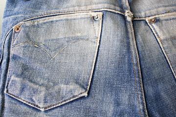 Textures ripped blue jeans background, Blue Denim Texture backgr