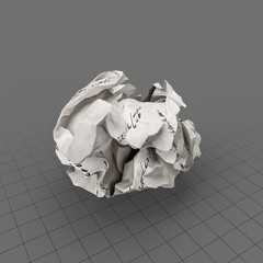 Paper Crumpled 1