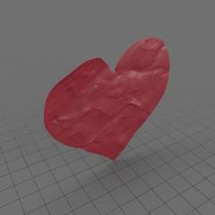 Paper Cutout Hearts