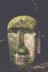Easter Island Garden Statue