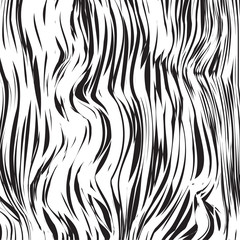 Abstract background zebra. Abstract black and white texture. Vector illustration