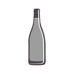 glass and beverage icon image vector illustration design