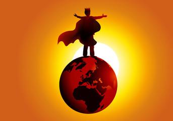 Roi du Monde - égo - pouvoir