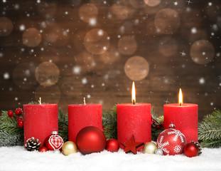 2. Advent / Weihnachten /  Kerzen