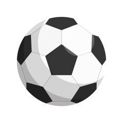 balloon soccer isolated icon vector illustration design